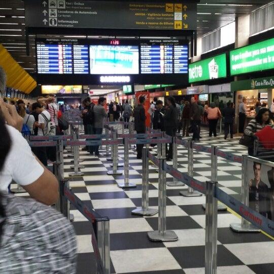 Снимок сделан в Международный аэропорт Конгоньяс/Сан-Паулу (CGH) пользователем Thales A. 6/20/2013