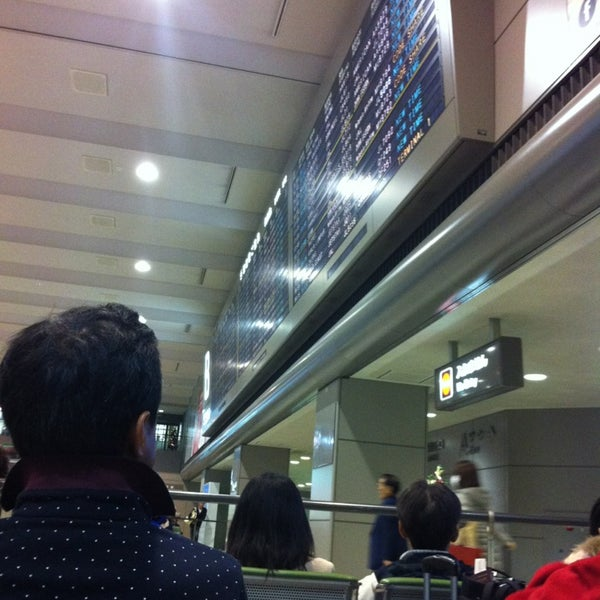 Photo taken at International Departure Lobby by Lea C. on 12/24/2012