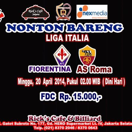 Nonbar Liga Inggris Bersama CISC Jakarta..     Chelsea VS Sunderland .. Sabtu 19 April 2014, Pukul 23.30 WIB.. Nikmati Kemeriahannya disini...