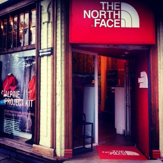 tienda north face puerto montt