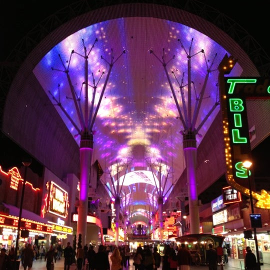 Photo taken at Fremont Street Experience by Stephen D. on 11/21/2012