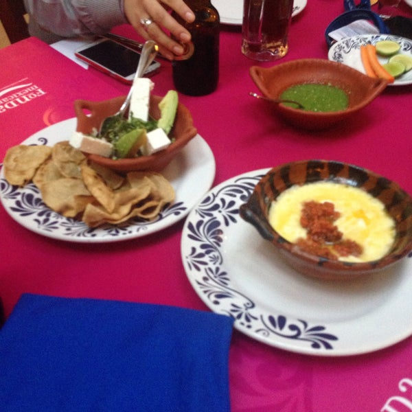 Photo taken at Fonda Mexicana by Gpe C. on 12/19/2014