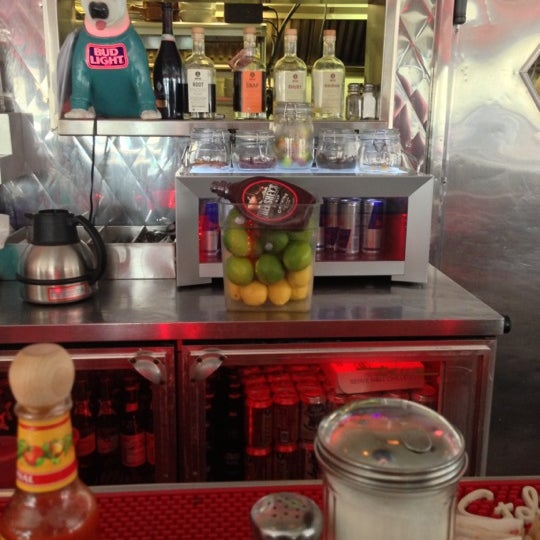 Photo taken at Silk City Diner Bar & Lounge by Deb L. on 12/1/2012