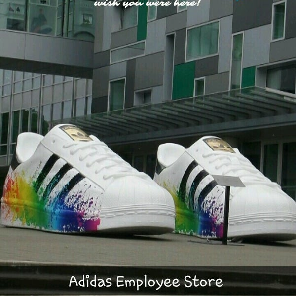 address adidas employee store