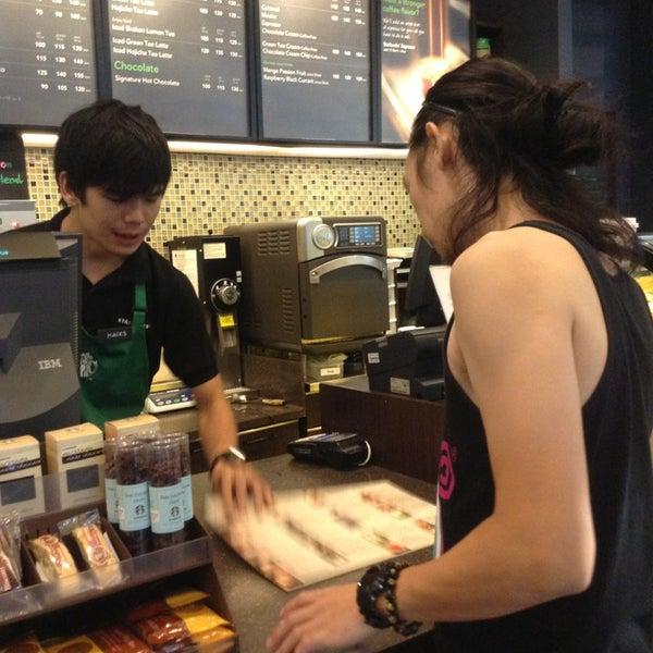 Photo taken at Starbucks by KissCaT C. on 5/3/2013