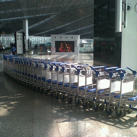 Photo taken at Netaji Subhash Chandra Bose International Airport (CCU) by Harshal S. on 5/6/2013