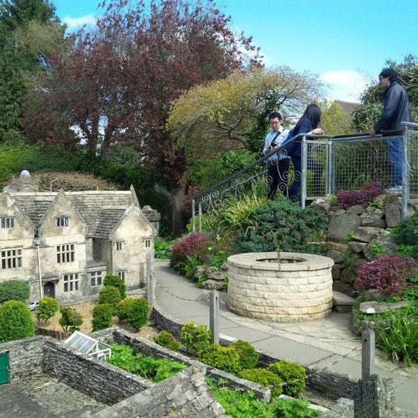 the model village garden