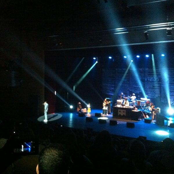 Photo taken at SESC Pinheiros by Anna P. on 9/12/2013