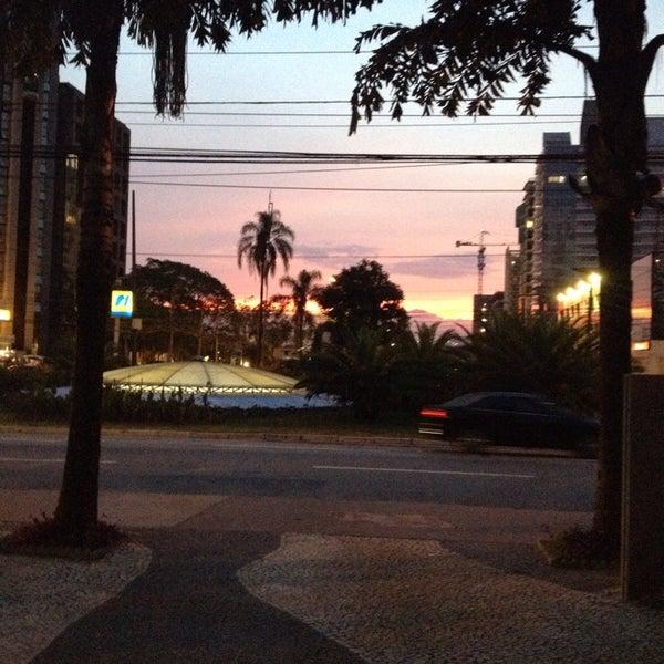 Photo taken at Calçadão Oiapoque by Vania S. on 2/3/2014