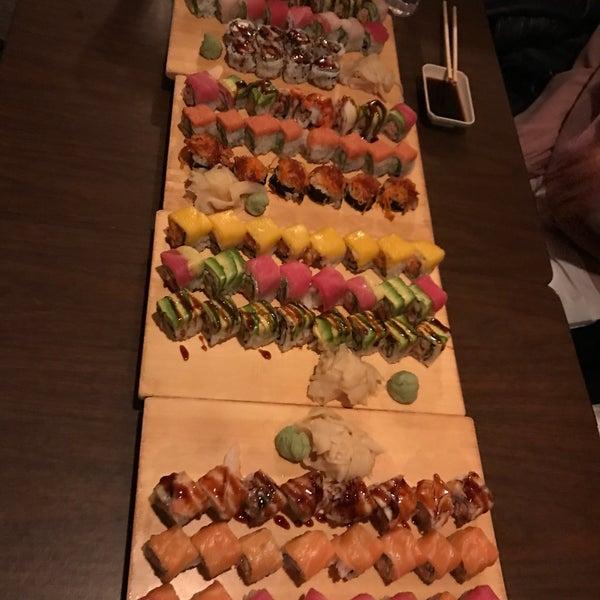 Photo taken at Cherin Sushi by Yami P. on 11/12/2016