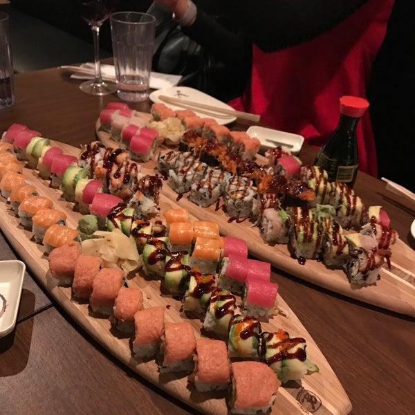 Photo taken at Cherin Sushi by Yami P. on 2/8/2017