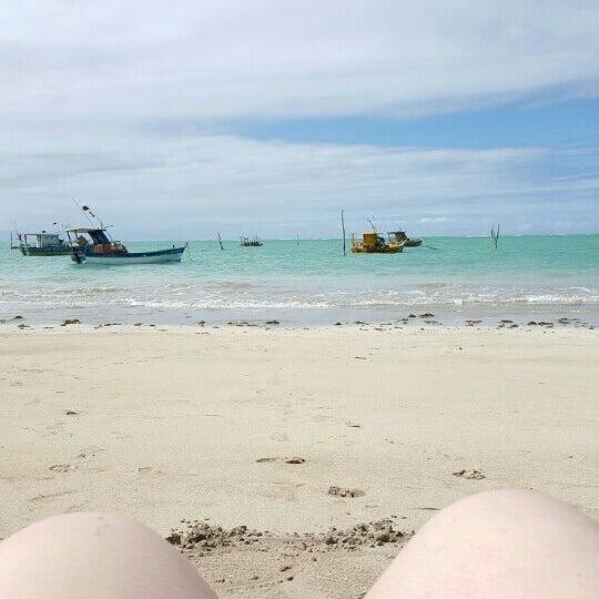 Foto tirada no(a) Praia de São Miguel dos Milagres por Mariana F. em 7/29/2016