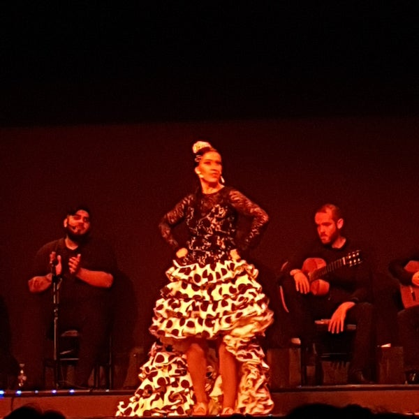 Photo taken at Palacio del Flamenco by Lissa M. on 10/27/2017