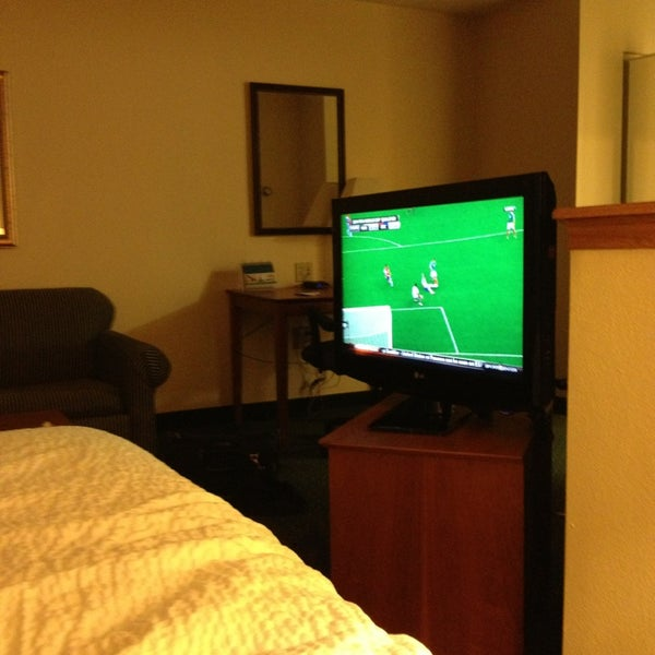 Photo taken at TownePlace Suites Dallas Las Colinas by Sean B. on 6/12/2013
