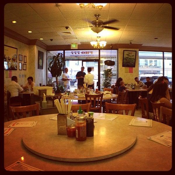 Photo taken at Pho 777 Vietnamese Restaurant by Ben M. on 9/30/2012