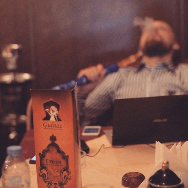 Photo taken at Gulnaz Cafe by Dmitriy T. on 12/31/2014