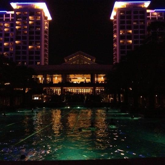 Photo taken at HowardJohnson Resort Sanya Bay by Алексей К. on 11/28/2012