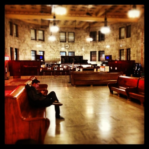 Photo taken at Union Station Amtrak (PDX) by Gianluca T. on 1/19/2013