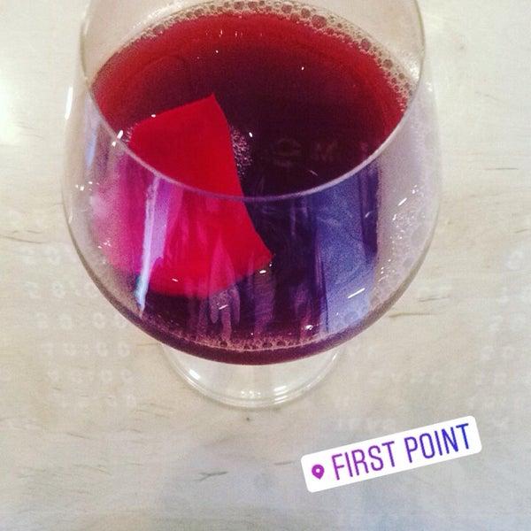 Снимок сделан в First Point Espresso Bar пользователем Anastasiia B. 7/31/2017