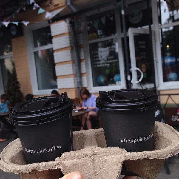 Снимок сделан в First Point Espresso Bar пользователем Anastasiia B. 7/22/2017