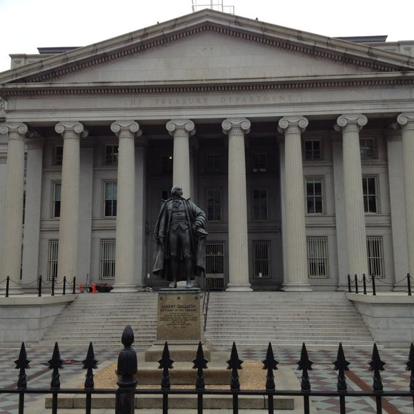Photo taken at US Department of the Treasury by Maryam J. on 3/2/2013
