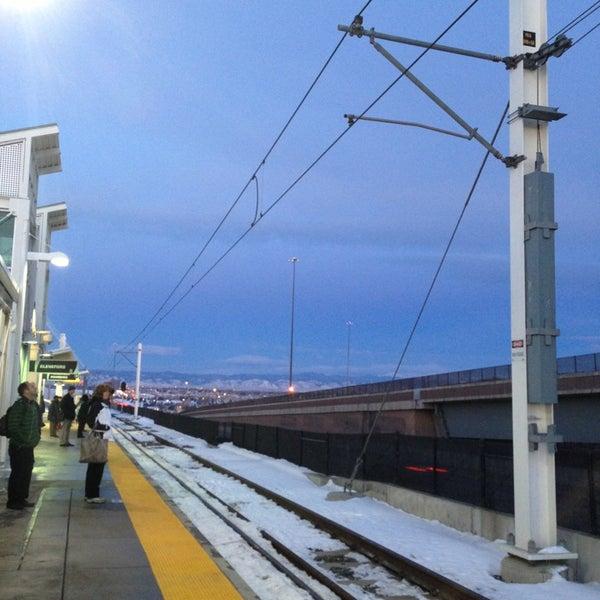 Light Rail Station In Kennedy