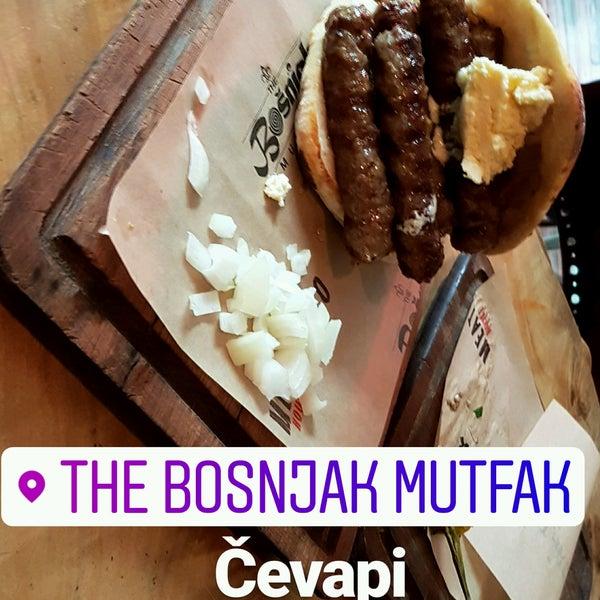 1/20/2017 tarihinde Melih Ç.ziyaretçi tarafından The Bošnjak Mutfak'de çekilen fotoğraf