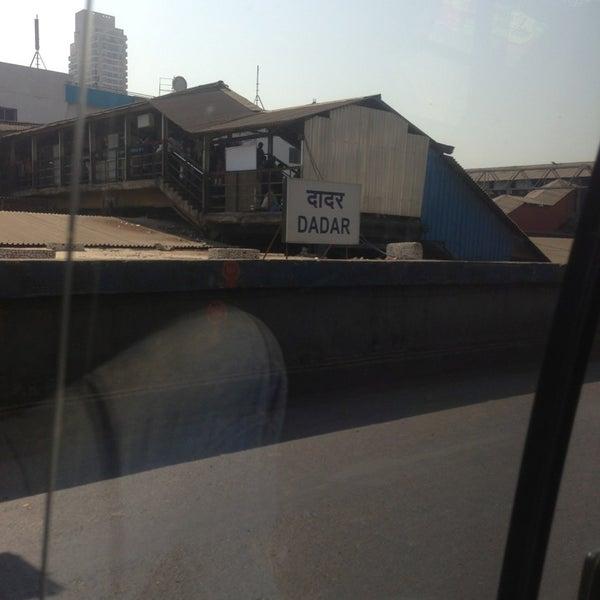 Photo taken at Dadar Railway Station by akash s. on 3/2/2013