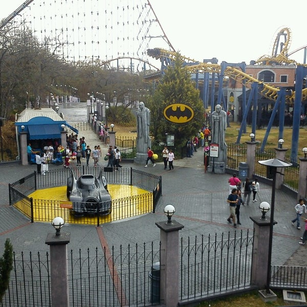 Photo taken at Six Flags México by Angel D. on 4/1/2013