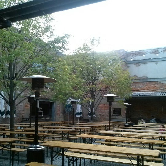 Photo taken at Frankford Hall by Diane R. on 10/3/2012