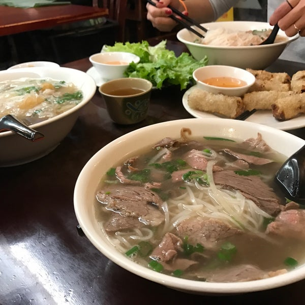 Photo taken at Pho Bac by Kathie H. on 1/22/2017