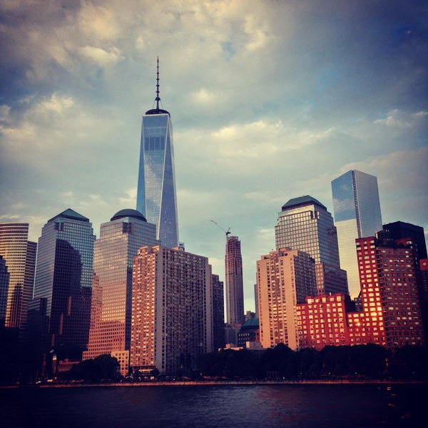 Photo taken at Battery Park City Esplanade by Sarko S. on 7/18/2015