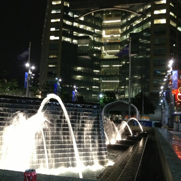 Photo taken at Campus Martius by Basem A. on 6/8/2013