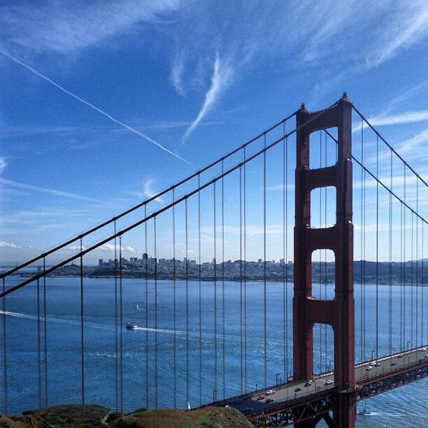 Photo taken at Vista Point by Andrea G. on 11/11/2012