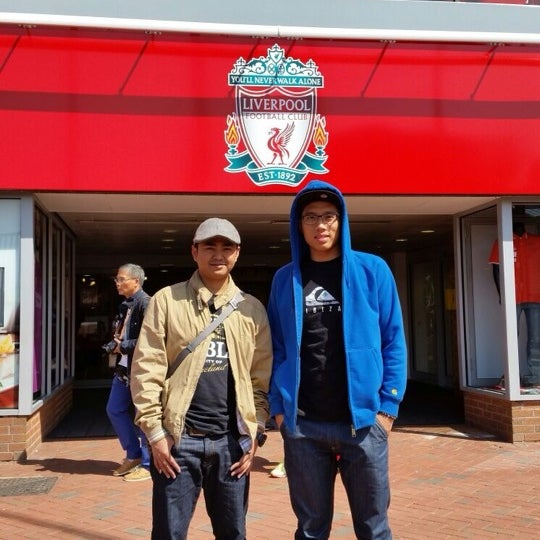 Photo taken at Liverpool FC Official Club Store by Syahmi A. on 8/7/2014