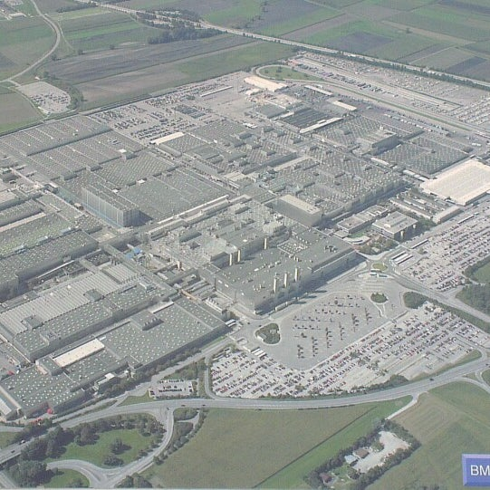 Bmwpany In Germany: Factory In Dingolfing