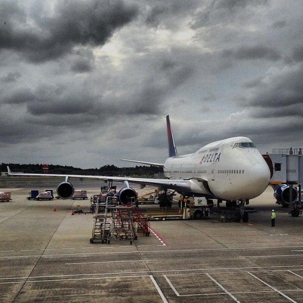 Photo taken at Narita International Airport (NRT) by Yifan X. on 10/23/2013