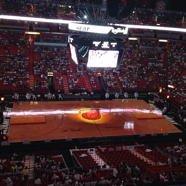Photo taken at American Airlines Arena by Octavio M. on 6/17/2013