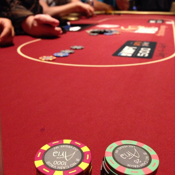 Photo taken at Aria Poker Room by François G. on 7/10/2014