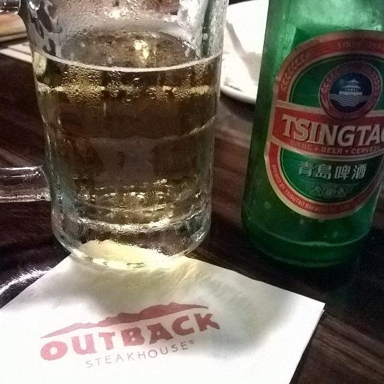 Photo taken at Outback Steakhouse by Claudenir M. on 8/31/2014