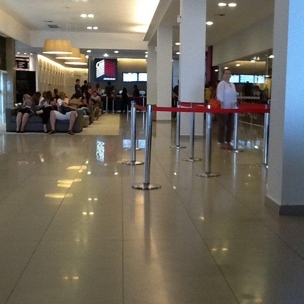 Photo taken at Cinespaço Beiramar by Sheila P. on 2/12/2013