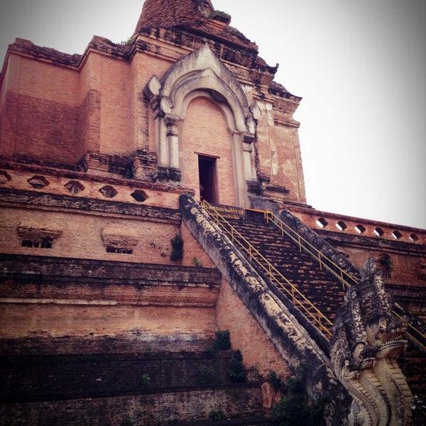 Photo taken at Wat Chedi Luang Varavihara by SY S. on 4/24/2013