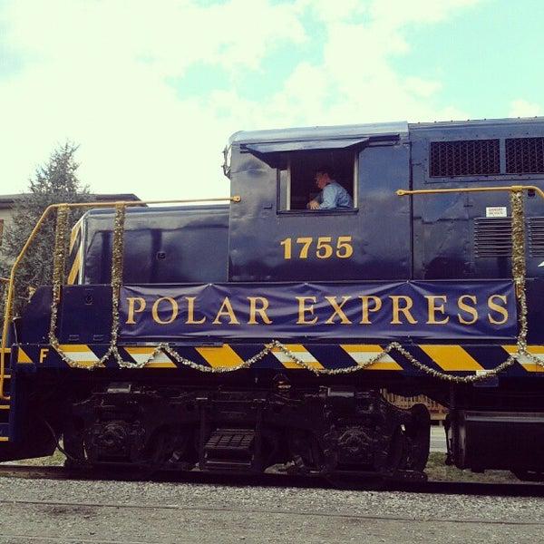 Photo taken at Great Smoky Mountain Railroad by Mandi M. on 12/15/2012