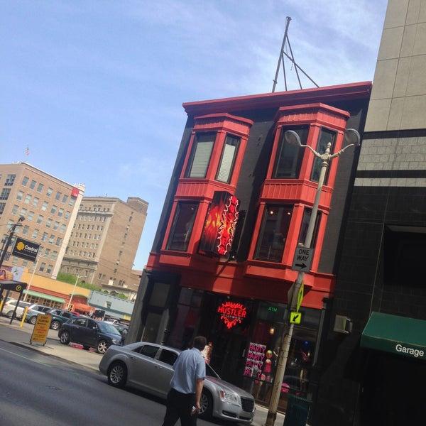 Hustler downtown cincinnatti ohio