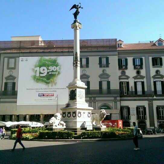 Photo taken at Piazza dei Martiri by Matteo E. on 7/7/2015