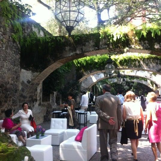 Photo taken at Hotel & SPA Hacienda de Cortés by Mary V. on 9/15/2012