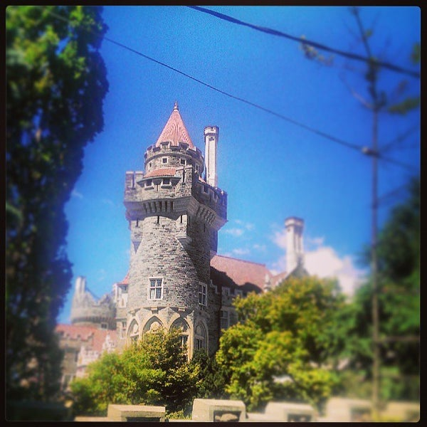 Photo taken at Casa Loma by darrell o. on 7/25/2013