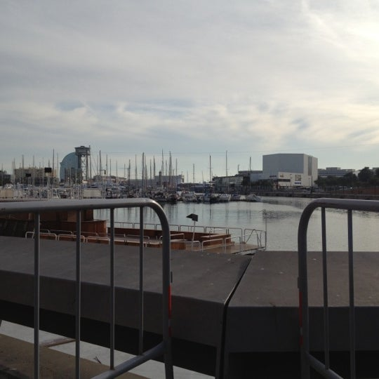 Photo taken at OneOcean Port Vell Barcelona by Ostrom L. on 11/7/2012