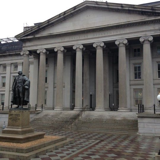 Photo taken at US Department of the Treasury by Sara Marie B. on 12/8/2012
