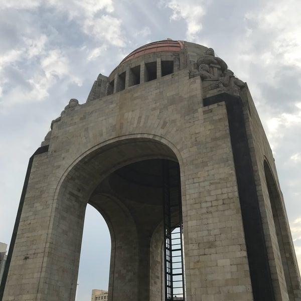 Das Foto wurde bei Mirador Monumento a la Revolución Mexicana von Fabian G. am 4/25/2018 aufgenommen